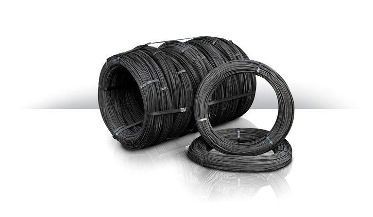 Black annealed wire rolls