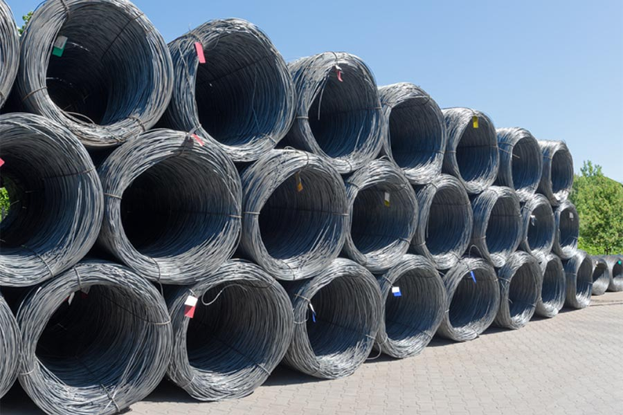 Before real processing, wire rods are selected carefully