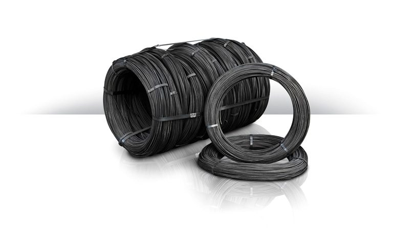 Black annealed wire rolls